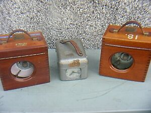 PIGEON RACING CLOCKS  STB AND WOODEN CASED CLOCKS