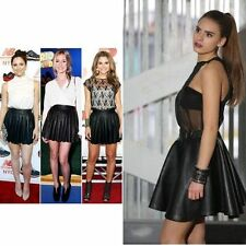 Faux Leather Short/Mini Skirts for Women