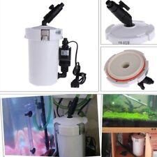 HW-602B Ultra-Quiet External Filter Bucket For Aquarium Fish Tank With Pump Hose