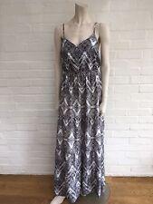 Melissa Odabash women's Maxi Lupa Beach Dress Amazing Print Size S Small