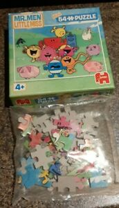 MR. MEN And LITTLE MISS Mini 54 piece puzzle Age 4+ BNIB
