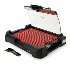 Paula Deen 1800W GranIT Titanium Ceramic Nonstick Reversible Grill Red #B416344