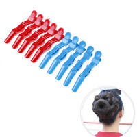 10 Pcs alligator hair clip salon croc hair style clips sectioning hair claw TEmz