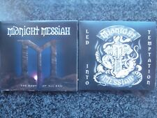MIDNIGHT MESSIAH BOTH ALBUMS ROOT OF ALL EVIL/LED INTO TEMPTATION ELIXIR NWOBHM