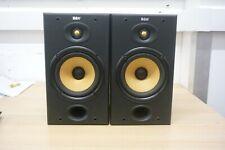 B&W DM601 Loudspeakers Pair Stereo 100w Bi-wireable NO Bi-wire Links UNTESTED