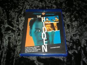 The Hidden (Blu-ray, 2017) Warner Archive Cult '87 Nouri/MacLachlan SciFi-Horror