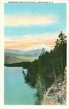 Whiteface From Pulpit Rock Lake Placid New York Postcard 132355