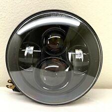 "7"" LED Projector Daymaker Black Headlight Harley Street Glide Softail FLHX FLD"