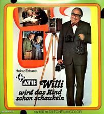 """ORIGINAL S8 FILM """"WILLI WIRD DAS KIND SCHON SCHAUKELN"""", UFA, 2 X 120 m SW/T, Ovp"""
