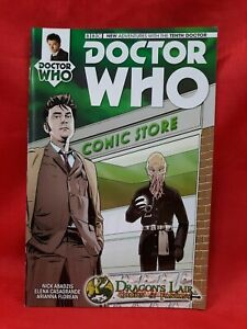 Doctor Who Tenth Doctor #1- Dragon's Lair Store Variant- Titan Comics VF/NM 2014