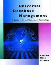 Universal Database Management: A Guide to ObjectRelational Technology (Morgan Ka