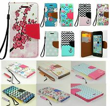 For iPod Touch 5 TH 6 6TH Gen Fashion Wallet Pu Leather Folio Flip Cover Case