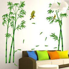 Bamboo Birds Tree Wall Stickers 3D Decal Art Wallpaper Decoration Home Kids Room