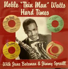 NOBLE 'THIN MAN' WATTS - Hard Times - 26 Tracks