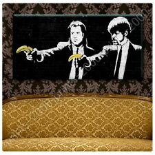 Pulp Fiction Banana by Banksy | Poster or Wall Sticker Decal | Wall art