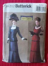 Butterick Sewing Pattern 4212 Historic Costume Dresses & Coat Sz 18 20 22 New