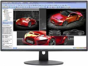 """Sceptre E248W-19203R 24"""" Ultra Thin 75Hz 1080p LED Monitor 2x HDMI VGA Build-in"""