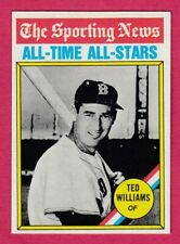 1976 Topps # 347 Ted Williams -- Boston Red Sox -- Box 704-630
