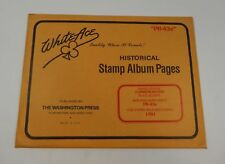 """White Ace United States Commemorative Simplified Supplement """"PB-43s"""" 1991 Stamp"""