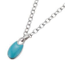 Modeschmuck-Halsketten & -Anhänger aus Edelstahl mit Kristall