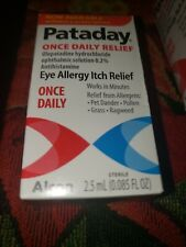 Alcon Pataday Eye Allergy Itch Relief, Once Daily - 0.085oz