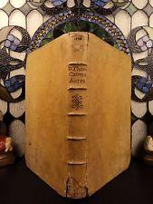 1595 Thomas Aquinas Catena Aurea BIBLE & Commentary on New Testament Gospels