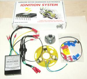 Suzuki GT 380 550 750 3-cyl 2Takt elektr. Zündung Boyer electronic ignition kit