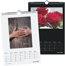 Premium Bastelkalender 2019 Fotokalender A4 für eigene Fotos selber gestalten