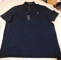 Polo Ralph Lauren Short Sleeve Polo Shirt XXL Classic Fit 735112 Navy Heather