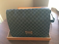 ca21dff8c6f Sac Besace Homme Louis Vuitton couleur Damier Gris Graphite