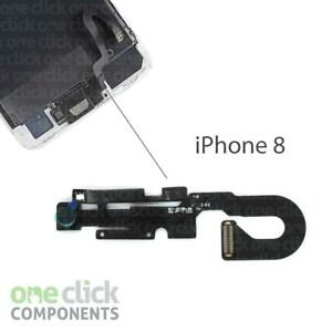 New Front Camera Proximity Light Sensor Mic Flex Cable Replacement for iPhone 8