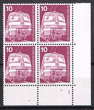 1975 Berlin Mi. Nr. 495 Viererblock postfrisch mit FN 1