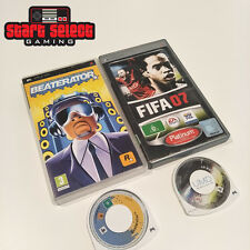 BEATERATOR & FIFA 07 Game Set on PSP PAL | Aus Seller + FREE POST