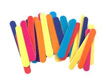50 Pcs Mini Nail Files 180/240 Colorful Wooden Nail File Lima Buffer Pedicure an