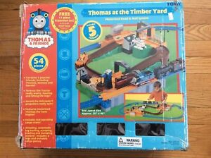 Tomy Thomas at the Timber Yard Motorized Road & Rail System EC extra trains lot