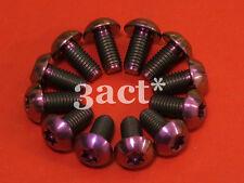 12 pcs Purple M5 x 10mm Titanium/Ti Bolt - Hayes, Avid, Shimano Disc Brake Rotor