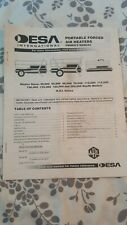 Desa Portable Forced Air Heaters Owner'S Manual Various Heater sizes
