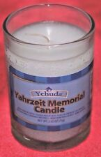 72-Emergency Yehuda~Yahrzeit Memorial Candle,Holidays~20-25~Hr~Bulk~SPECIAL DEAL