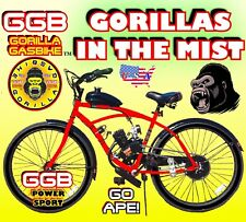 "48cc 49cc 50cc 66c 80cc 2-Stroke Motorized Bike Kit And 26"" Bicycle Diy"