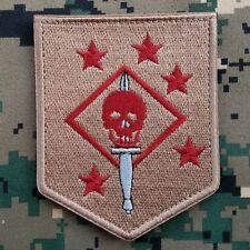 Marine Raiders Infrared Patch - MARSOC,USMC,SOF Hook Desert Ops Red Morale Badge