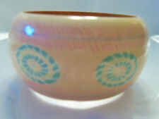 (INDIA) FUNKY COOL Shades of PEACH & MINT GREEN Chunky Bangle Bracelet 13EB123