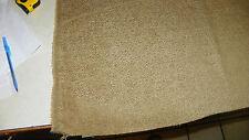 Gold Hobnail Velvet Upholstery Fabric Remnant  1 Yard  F1067