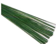 12-18 Gauge - Green 30 cm Stub Wire 12 Inch - Choose from 18 19 20 22 24 26 28 Gauge Green Florist Wires