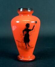 Art Deco Glasvase - Tangoglas - Jean Beck München 1920