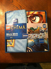 Lego Chima Fitted Sheet and Pillow Case. Micro Mink. Brand New.