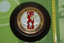 Commander of peace force brigade 28 th-Turkish army in Kosovo-Plaque