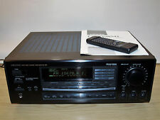 Onkyo TX SV 9041 Dolby-Surround-Receiver, schwarz mit Anleitung u. Fernbedienung