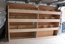 Nissan NV300 Plywood Van Shelf Shelving Racking Storage System OS F&R