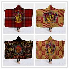 Harry Potter Gryffindor Hooded Blanket Wearable Blanket Xmas Gift 150x130cm