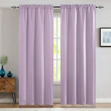 Window Curtain Room Darkening for Bedroom Living Room Thermal Insulated 2 Panels